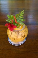 Tropical cocktail, Fregate Island, Seychelles, Africa by Alison Wright - various sizes