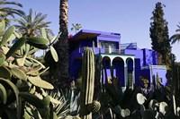 Villa Exterior, Jardin Majorelle and Museum of Islamic Art, Marrakech, Morocco by Walter Bibikow - various sizes