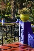 Villa Gardens, Jardin Majorelle and Museum of Islamic Art, Marrakech, Morocco by Walter Bibikow - various sizes