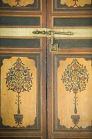Woodwork Detail, House of the Grand Vizier, Palais de la Bahia, Marrakech, Morocco by Walter Bibikow - various sizes