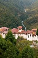 Trongsa Dzong Fortress, Bhutan rice terraces by Howie Garber - various sizes