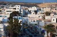 Tunisia, Cap Bon, Hammamet, Avenue de la Republique Fine Art Print