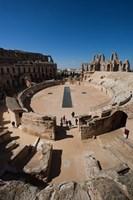 Colosseum, Tunisia Fine Art Print