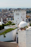 View of Tangier from the Medina, Tangier, Morocco Fine Art Print