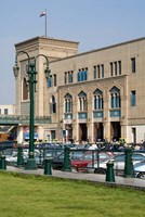 Train Station of Mahattat Ramses, Cairo, Egypt, North Africa Fine Art Print