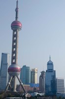 View of the modern Pudong area, Shanghai, China by Cindy Miller Hopkins - various sizes