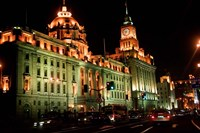 View of Colonial-style Buildings Along the Bund, Shanghai, China by Keren Su - various sizes