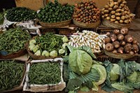 Vegetables for sale, street market, Luxor, Egypt by Adam Jones - various sizes - $41.99