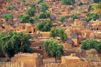 View of the Dogon Village of Songo, Mali by Janis Miglavs - various sizes