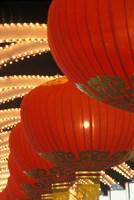 Traditional Red Lanterns, China Fine Art Print