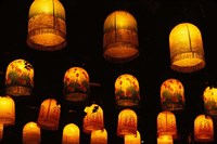 Traditional Lanterns, China Fine Art Print