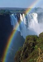 Waterfalls, Victoria Falls, Zimbabwe, Africa Fine Art Print