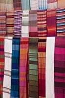 Woven Fabrics, Morocco Fine Art Print