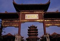 Yellow Crane Chamber, Sichuan, China Fine Art Print