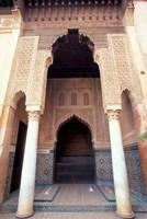 Zellij (Mosaic Tilework) at the Saddian Tombs, Morocco by John & Lisa Merrill - various sizes