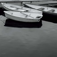 A Jumble of Boats Crop Fine Art Print