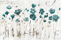 Abstract Balance VI Blue by Lisa Audit - various sizes