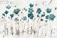 Abstract Balance VI Blue Fine Art Print