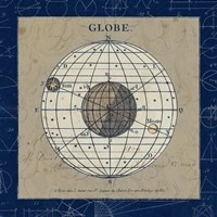 Globe Blue by Sue Schlabach - various sizes, FulcrumGallery.com brand