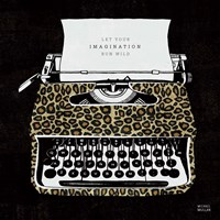 Analog Jungle Typewriter Fine Art Print