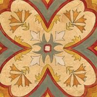 Andalucia Tiles H Color Fine Art Print