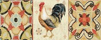 Bohemian Rooster Panel I by Daphne Brissonnet - various sizes