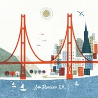 Colorful San Francisco Fine Art Print