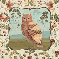 "24"" x 24"" Owl Art"