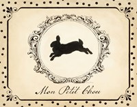 Cartouche Lapin II by Emily Adams - various sizes, FulcrumGallery.com brand