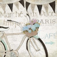 French Flea Market I Fine Art Print