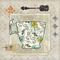 Garden Cafe III by Belinda Aldrich - various sizes
