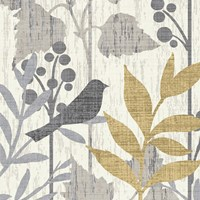 Garden Leaves Square V by Wild Apple Portfolio - various sizes