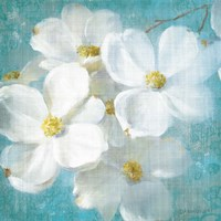 Indiness Blossom Square Vintage II by Danhui Nai - various sizes