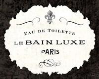Le Bain Luxe I Fine Art Print