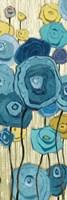 Lemongrass in Blue Panel I by Shirley Novak - various sizes