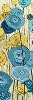 Lemongrass in Blue Panel II by Shirley Novak - various sizes