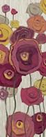 Lemongrass in Plum Panel I by Shirley Novak - various sizes