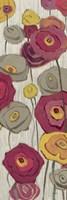 Lemongrass in Plum Panel II by Shirley Novak - various sizes