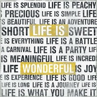 Life Is Yellow by Michael Mullan - various sizes