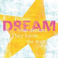 Letterpress Dream by Sue Schlabach - various sizes