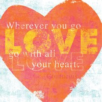 Letterpress Love by Sue Schlabach - various sizes