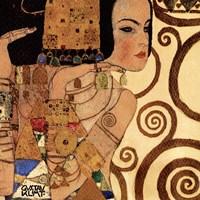 Expectation (detail), 1909 by Gustav Klimt, 1909 - various sizes