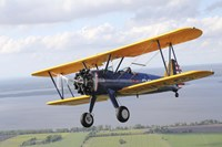 Close up of Boeing Stearman Model 75 Kaydet Framed Print