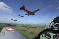 Inside the Pilatus PC-7 turboprop trainer of the Swiss Air Force display team by Daniel Karlsson - various sizes