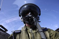 Self-portrait of a pilot flying in a Saab J 32 Lansen by Daniel Karlsson - various sizes