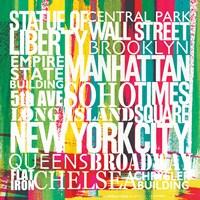 New York City Life Patterns VII by Michael Mullan - various sizes