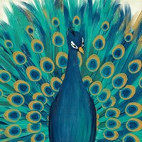 Proud as a Peacock I Fine Art Print