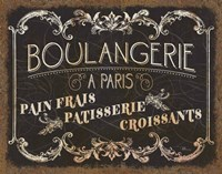 Parisian Signs Fine Art Print