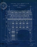 Quai Henri Blueprint II Fine Art Print