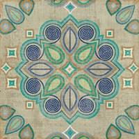 Santorini Tile III Fine Art Print